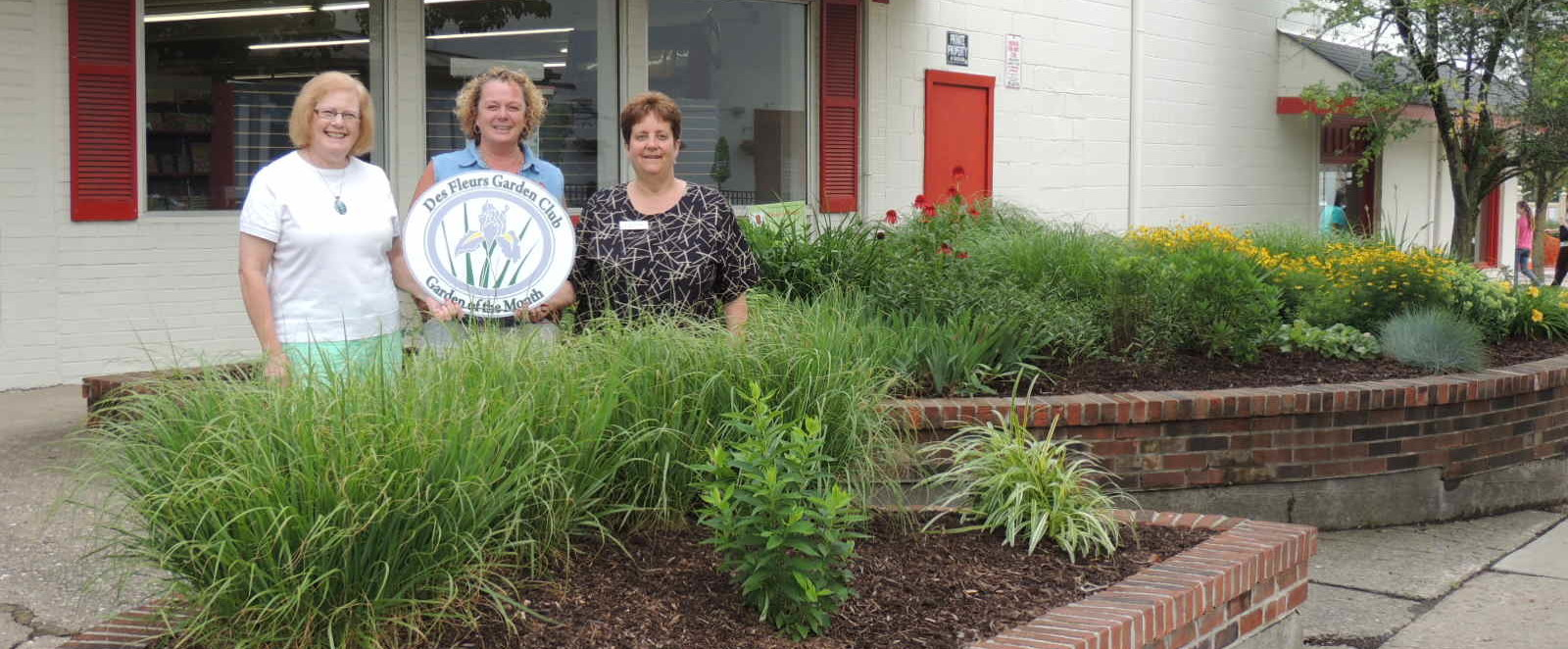 Follett's Miami Co-op Bookstore Awarded June Garden of the Month